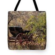 Horse-drawn Buggy Tote Bag by Kathleen Bishop