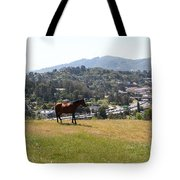 Horse Hill Mill Valley California 5d22662 Tote Bag by Wingsdomain Art and Photography