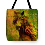 Horse paintings 001 Tote Bag by Catf
