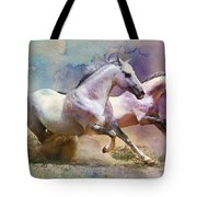 Horse paintings 004 Tote Bag by Catf