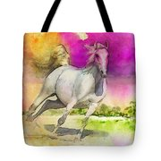 Horse Paintings 007 Tote Bag by Catf