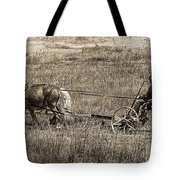 Horse Power Tote Bag by Janice Rae Pariza