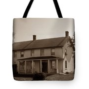 Horton Point Lighthouse Tote Bag by Skip Willits