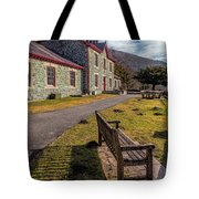 Hospital Bench Tote Bag by Adrian Evans
