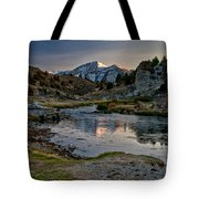 Hot Creek Tote Bag by Cat Connor
