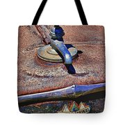 Hot Faucet Hood Ornament Tote Bag by Garry Gay