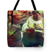 Hot Market Tote Bag by Kris Parins
