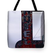 Hotel Club And Bar  Plentywood Montana Tote Bag by Jeff Swan