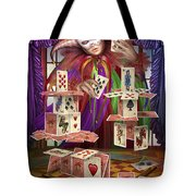 House Of Cards Tote Bag by Ciro Marchetti