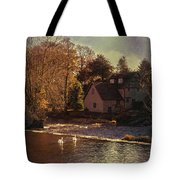 House On The River Tote Bag by Amanda And Christopher Elwell