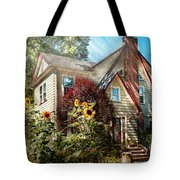 House - Westfield NJ - The summer retreat  Tote Bag by Mike Savad