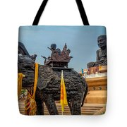 Huay Mongkol Temple  Tote Bag by Adrian Evans