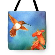 Hummer Tote Bag by Tracy L Teeter
