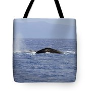 Humpback Pair Tote Bag by Mike  Dawson