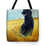 Hunting Day Over Tote Bag by Darlene Prowell
