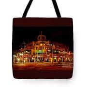 Huntington Beach Downtown Nightside 1 Tote Bag by Jim Carrell