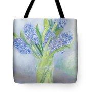 Hyacinths Tote Bag by Sophia Elliot