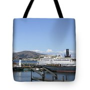 Hyde Street Pier - San Francisco Tote Bag by Daniel Hagerman