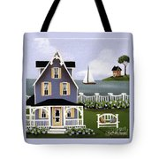 Hydrangea Cove Tote Bag by Catherine Holman