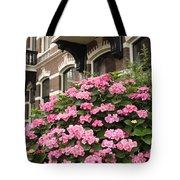 Hydrangeas In Holland Tote Bag by Carol Groenen