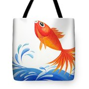 I Am Back Tote Bag by Oiyee  At Oystudio