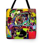 I Believe With Complete Faith In The Coming Of Mashiach 5 Tote Bag by David Baruch Wolk