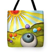 I Can See Clearly Now Tote Bag by Oiyee  At Oystudio