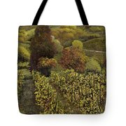 I Filari In Autunno Tote Bag by Guido Borelli