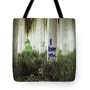 I Love You Tote Bag by Trish Mistric