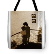I Stay Wif You Tote Bag by Barbara Griffin