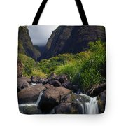 Iao  Storm Tote Bag by Mike  Dawson