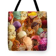 Ice Cream Crazy Tote Bag by Alixandra Mullins