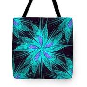 Ice Flower Tote Bag by Anastasiya Malakhova