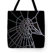 Ice Web Tote Bag by Carol Lynch