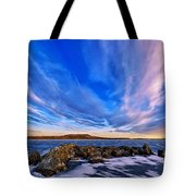 Icebound 6 Tote Bag by Bill Caldwell -        ABeautifulSky Photography