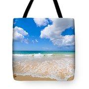 Idyllic Summer Beach Algarve Portugal Tote Bag by Amanda Elwell