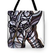 iGiraffe Tote Bag by Del Gaizo