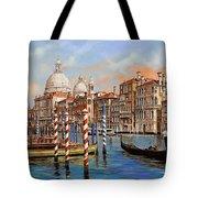 il canal grande Tote Bag by Guido Borelli