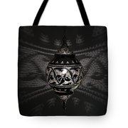 Illuminated Hanging Light Fixture Tote Bag by Keith Levit