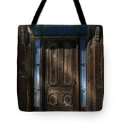 Illuminating The Past - Bodie Tote Bag by Sandra Bronstein