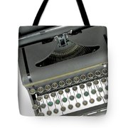Imagination Typewriter Tote Bag by Rudy Umans