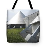 Imiloa Astronomy Center - Hilo Hawaii Tote Bag by Daniel Hagerman