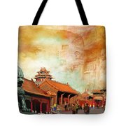 Imperial Palaces Of The Ming And Qing Dynasties In Beijing And Shenyang Tote Bag by Catf