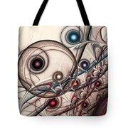 Implantation Tote Bag by Anastasiya Malakhova
