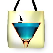 Impression Sunrise Sailing On The Cups Little People On Food Tote Bag by Paul Ge