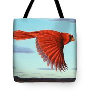In Flight Tote Bag by James W Johnson
