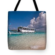 In Harmony With Nature. Maldives Tote Bag by Jenny Rainbow