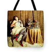 In Love Tote Bag by Cindy Nunn