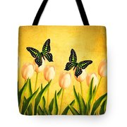 In the Butterfly Garden Tote Bag by Edward Fielding