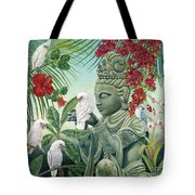 In The Company Of Angels Tote Bag by Danielle  Perry